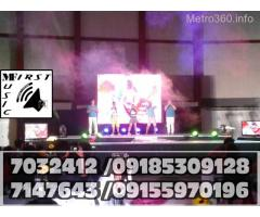STAGE RENTAL MANILA PRO LIGHTS AND SOUND SYSTEM PROJECTOR FOR RENT@7032412,7147643,09185309128
